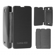 Чохол книжка CМА Original Flip Cover Microsoft Lumia 430 Black