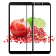 Защитное стекло Full Screen Full Glue 2.5D for Xiaomi Redmi 6/Redmi 6A (0.33mm) Black тех. пакет