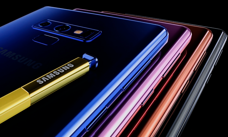 Смартфон Samsung Galaxy Note 9 со стилусом S Pen